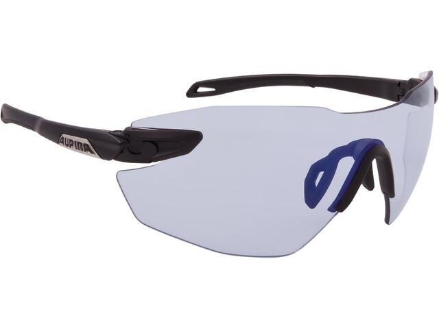 Alpina Twist Five Shield RL VLM+ Glasses black matt